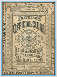 Traveller's Official Guide to Railway and Steam