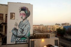 Fin DAC & Angelina Christina (2014) - Winston St and Los Angeles St, Los Angeles, California (USA)