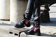 Balenciaga Cut Out Boots!