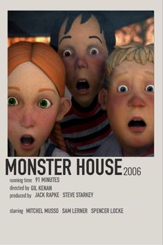 Iconic Movie Posters, Iconic Movies, Film Posters, Good Movies, Film Poster Design, Monster House, Movie Prints, Movie Covers, Alternative Movie Posters