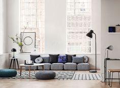 Love the floor sofa!