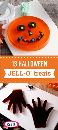 13 Halloween JELL-O® Treats – When it comes to Halloween food and party ideas, nothing can beat JELL-O® for its delicious versatility? Tucked amongst flag cakes and Yule logs, you'll find Halloween desserts that range from cute-spooky to ghoulishly scary! Plus, we've also got ideas for kids-friendly parties as well.