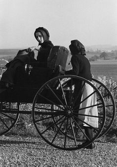 George Tice, Two Amish Girls, Lancaster, Pennsylvania, 1966