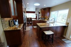 #Traditional #Kitchen #Remodel with brand new custom #Cabinets in city of #FountainValley