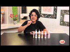 Alciana Rossi explica pra que serve cada cola da Glitter.