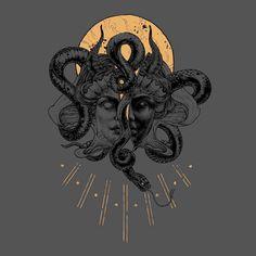 Trendy tattoo geometric sun symbols 46 Ideas tattoo is part of Medusa tattoo - Medusa Kunst, Medusa Art, Medusa Tattoo, Kunst Tattoos, Tattoo Drawings, Art Drawings, Pencil Drawings, Arte Black, Tattoo Bein