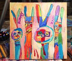 Suzi Dennis - Abstract rabbits