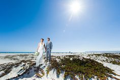 like the photo on top of the coronado dunes - perhaps we could do a wedding party shot?