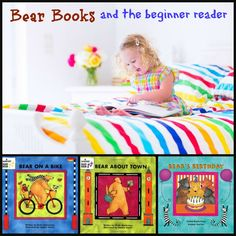 Bear books and the beginner reader - Tips and suggestions for using Bear Books from Barefoot Books to help your beginning reader.