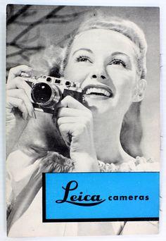 Original Leica If IIf & IIIf Sales Brochure  Leitz NY  6 pages   Feb. 1953