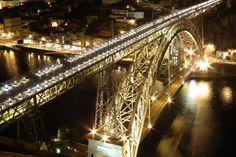 Pont Luis II, Porto, Portugal #travel #whereivebeen