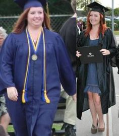 Before and After weight loss - 2 years later.