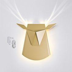 Popup Lighting Elegant Aluminium Wall LED Light Deer Head... https://www.amazon.com/dp/B01B63XBDC/ref=cm_sw_r_pi_dp_x_FBGezb772DJCT