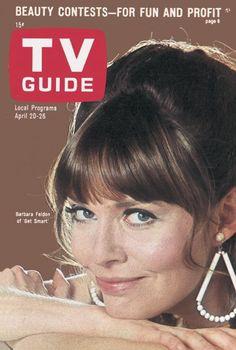 """TV Guide: April 20, 1968 - Barbara Feldon of """"Get Smart"""""""