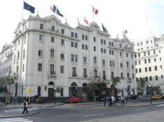 El Gran Hotel Bolívar es un hotel de tres estrellas que está ubicado en el centro histórico de Lima, frente a la Plaza San Martín. Fue el primer edificio hotelero moderno de gran envergadura que se construyó en Lima con la finalidad de alojar a los invitados para las celebraciones del primer centenario de la batalla de Ayacucho en 1924.
