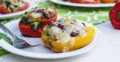 Simply Organic Easy Grilled Stuffed Peppers Recipe