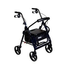 Drive Medical Duet Transport Wheelchair Walker Rollator. The Duet Rollator/Transport Chair is a combination of two products in a single safe, convenient mobility aid. As a Rollator, the Duet allows users to walk with an easy, smooth gait. As a transport chair, it allows users to be escorted anywhere.