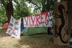 Alors que le maire de Tours est venu mercredi 12 août sur le campement du Sanitas et qu'une réunion avec le préfet est annoncée pour le 24, les réfugiés et les personnes solidaires appellent à un(...)