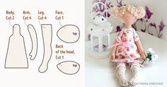 Nine simple stuffed toy ideas