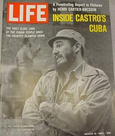 A penetrating report in pictures by Henri Cartier Bresson. The first look at the Cuban people since the country clamped down.    From Life magazine - Inside Castro's Cuba - March 15, 1963