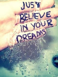 Just believe in your dreams. Look Up Quotes, Some Quotes, Words Quotes, Wise Words, Quotes To Live By, Sayings, Qoutes, Amazing Quotes, Great Quotes