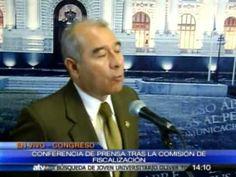 Comisión de Fiscalización pedirá facultades para investigar a Alejandro Toledo