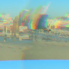 #sf from #baybridge #glitche app #lcd