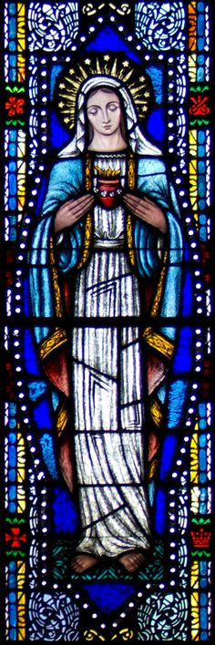 StainedGlass-Sacred_Heart_of_Mary