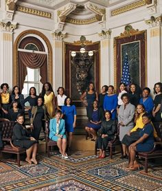 Meet the dynamic Black women responsible for keeping President Obama's administration running.