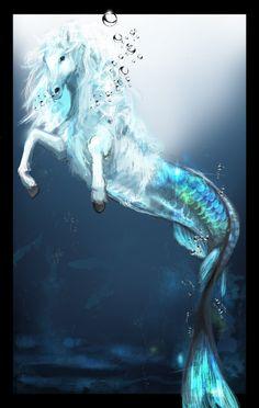 sea horse by ~nagatuki on deviantART