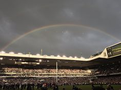 A rainbow appeared and the sun came out as Tottenham closed White Hart Lane forever - Cartilage Free Captainclockmenumore-arrow : THIS REALLY HAPPENED.