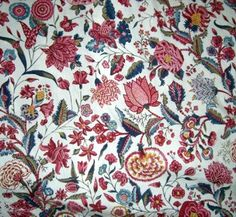 Fabric Patterns of the 18th Century