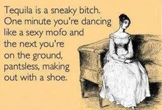 Yup... been there. But it was a boot not a shoe :o)