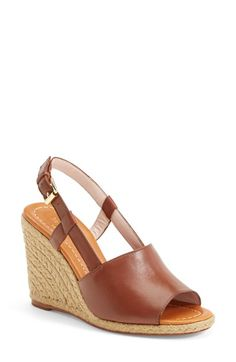 kate spade new york 'bowdon' espadrille wedge sandal (Women) available at #Nordstrom