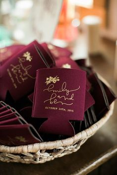 customized wedding koozies favor ideas