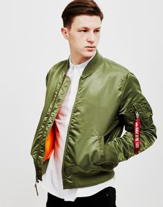The Idle Man now stock Alpha Industries MA1 VF Bomber Jackets. Get yours online now.