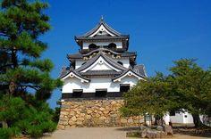 The Hikone-jo Castle castle tower   彦根城天守閣