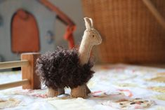Wool Felt Llama or Alpaca