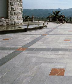 Cardoso | pavimento effetto pietra grigio chiaro