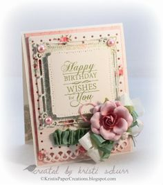 JustRite Papercraft September Release- Birthday Grand Sentiments Cling Stamps