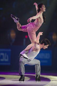 Tessa Virtue & Scott Moir. They are ssoooooo good!