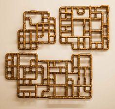Copper Tubing Art sculptural copper tubing furniture and arttj volonis | copper
