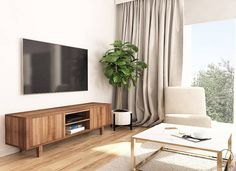 Ikea Stockholm Sideboard, Ikea Tv Unit, Ikea Living Room, Best Ikea, Home Decor Kitchen, Pallet Furniture, Cozy House, Decoration, Home And Living