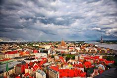 ラトビア・リガ  安く住める11の街
