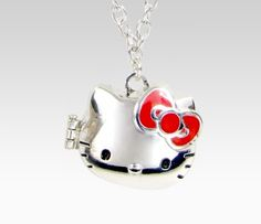 Hello Kitty 3D Locket Necklace: Apple  Loungefly for Hello Kitty