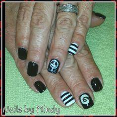 Jack Skelington nails