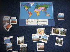 Week 1 - World Biomes Pin Map | The Homeschool Den