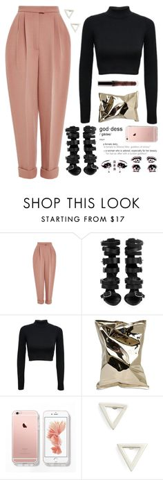 """having a naruto binge watch today. "" by love-rebelwolf ❤ liked on Polyvore featuring Delpozo, Giuseppe Zanotti, Anya Hindmarch and Still House"