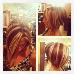 Blonde Inverted Bob on Pinterest | Indian Hair Color, Medium Black ...