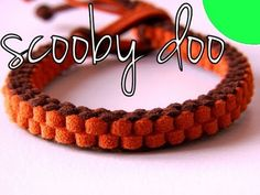 ▶ DIY Bracelet - Scooby doo knot - YouTube